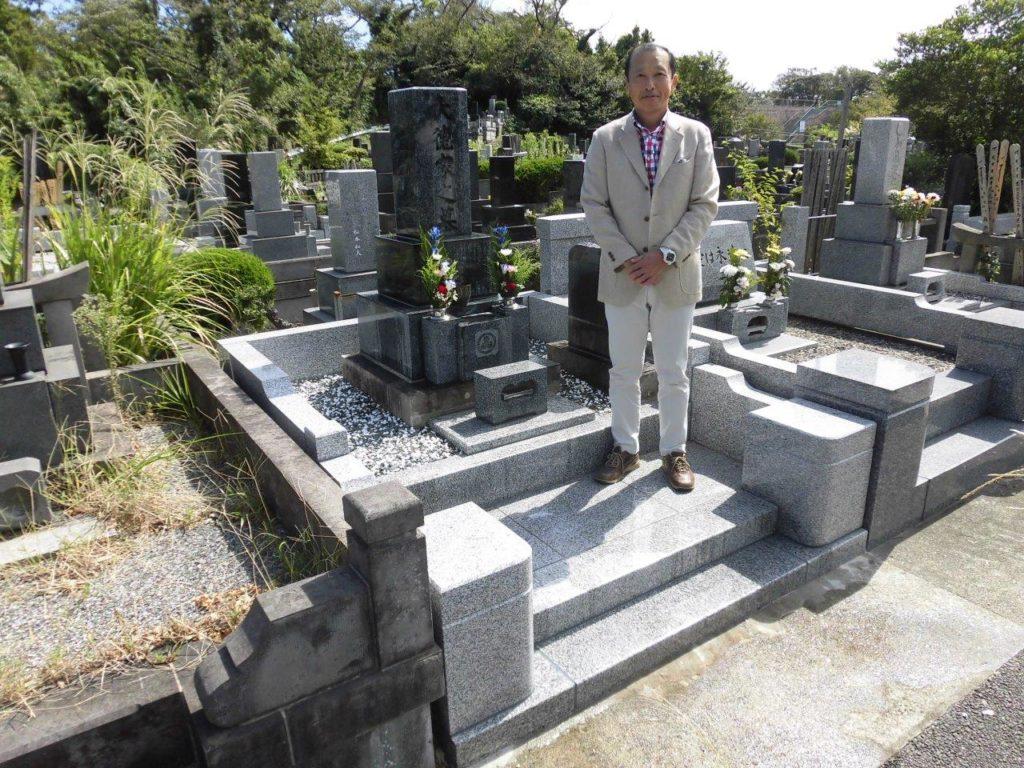 子供達にちゃんとしたお墓を残すことが出来て今は凄く安心しています。